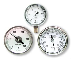 boiler temperature gauges